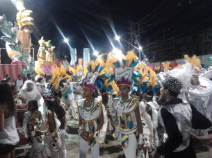My first carnival in Brazil ... it's impossible to describe the feeling I had, something like falling down the rabbit hole and waking up in a movie. Amazing!