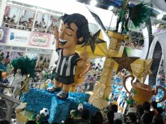 Of course, it's soccer and samba