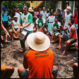"This is actually not carnival but ""congo"" in Barra do Jucu, Espiritu Santo, Brazil"