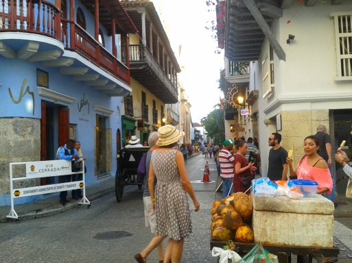 You can spend hours wandering through the cobbled alleyways of the ciudad amurallada in Cartagena