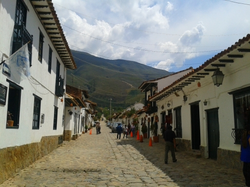 It's easy to get lost in your own imagination wandering through Villa de Leyva's cobbled streets