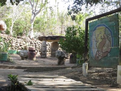 Pre-Colombian village close to La Boquilla