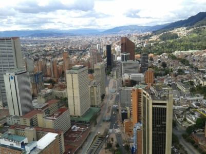 The view from Torre Colpatria